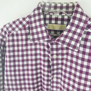 Michael Kors Plaid Dress Shirt